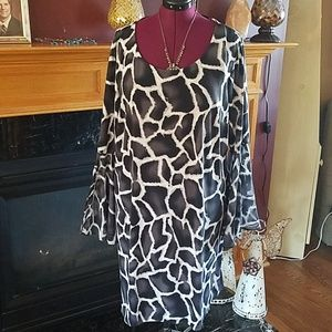 Fashion Bug 2xl Bell sleeves Dress